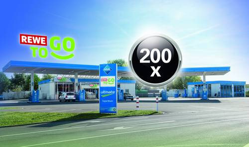 Aral Tankstelle Rewe To Go Sortiment